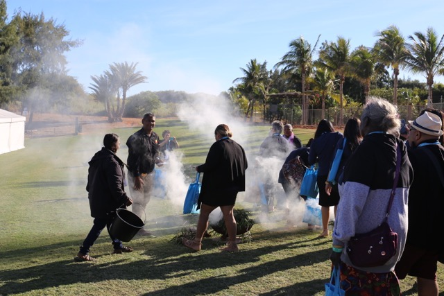 Yawuru smoking ceremony